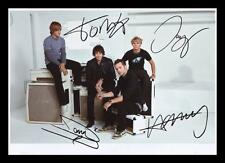 MCFLY AUTOGRAPHED SIGNED & FRAMED PP POSTER PHOTO