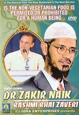 DR.ZAKIR NAIK - RASHMI BHAI ZAVERI - URDU DEBATES DVD - FREE UK POST