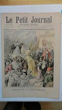 PETIT JOURNAL ILLUSTRE THEATRE PORTE ST MARTIN MI CAREME A MONTMARTRE CARNAVAL