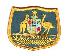 Parche bandera Australia emblema escudo de armas PATCH bordado termoadhesivo