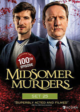 Midsomer Murders, Set 25 New DVD! Ships Fast!