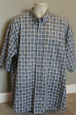 Jack Nicklaus Men's Tall 2XT botton down short sleeve dress shirt