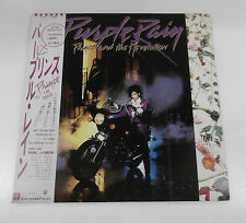 "1984 WARNER BROTHER RECORDS PRINCE ""PURPLE RAIN"" 12"" VINYL  LP JAPAN PRESSING"