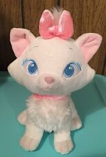 """FREE SHIP~DISNEY~**MARIE** KITTEN PLUSH~""""THE ARISTOCATS""""~MEASURES 9.5""""H~EXC COND"""