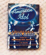 American Idol Collectible Card Game Season 3 Sealed
