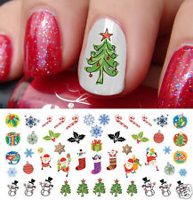 Holiday Christmas Nail Art Waterslide Decals #6 - Salon Quality!