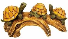 Solar-Powered Outdoor LED Light, Turtles on a Log, Moonrays 91515, New