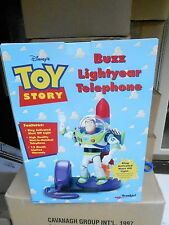 NRFB 1996 DISNEY  Toy Story Buzz Lightyear Telephone  (S19)