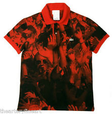 MICHAEL STIPE / R.E.M. x Lacoste 'Crowd - Red', 2008 Visionaire 54 Polo S *NEW*
