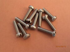M4 x 16mm  A2 STAINLESS STEEL CH HD SLOTTED SCREWS QTY  = 10