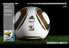 The official ball of the 2010 FIFA World Cup in South Africa: ADIDAS Jabulani