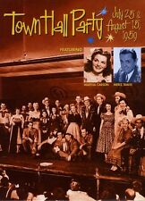 Town Hall Party: July 25 & August 15, 1959 (2009, REGION 0 DVD New)
