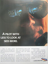 12/1990 PUB AIRBUS AIRLINER PILOTE PILOT EFIS ECAM FLIGHT CREW ORIGINAL AD