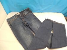 EUC AEROPOSTALE JUNIORS GIRL DENIM JEANS 3/4 ULTRA SKINNY PANTS CLOTHING