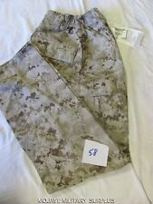 New USMC Desert Digital Tan Camo Pants MCCUU BDU Authentic X-LARGE/REGULAR