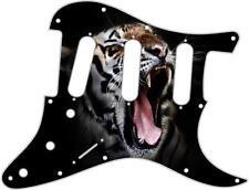 Stratocaster Strat Pickguard Fender SSS 11 Hole Guitar Pick Guard Tiger 1