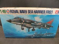 VINTAGE TAMIYA 1/48 ROYAL NAVY SEA HARRIER FRS.1 MODEL KIT # 6426