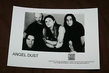 ANGEL DUST OFFICIAL 1998 PROMO PICTURE 5X7 INCHES MINT VERY RARE HTF OOP