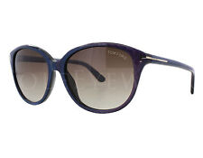 NEW Tom Ford FT0329-83F TF 329 Karmen Violet Blue Brown Gradient Sunglasses