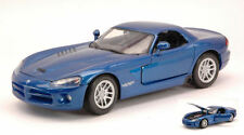 Dodge Viper SRT-10 2003 Blue Metallic 1:24 Model MOTORMAX