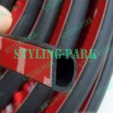 "157"" Car Sedan SUV Auto Small D Shape Rubber Edge Seal Hollow Door Weather Strip"