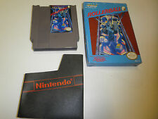 ROLLERBALL ROLLER BALL ORIGINAL GAME with BOX NINTENDO SYSTEM NES HQ BOX #A