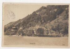 Gunten 1926 RP Postcard Switzerland 391a