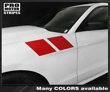 Ford Mustang Fender Double Stripes 2013 2014 2010 2011 2012 Decals Pro Motor