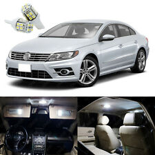 11 x Xenon White LED Interior Light Package Kit For Volkswagen VW CC 2009 - 2015