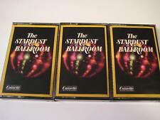 Lot of 3 Original Stardust Ballroom Volumes 1 2 & 3 Readers Digest Cassettes