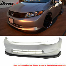 2012 Honda Civic 4Dr Sedan CS2 Style Front Bumper Lip Urethane