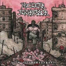 NUCLEAR AGGRESSOR-SLOW DISMEMBERMENT-CD-thrash-metal-violent assault-minotaur