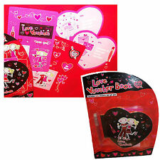 Voucher Book with Stickers and Pen - Fun Novelty Valentine's Day Gift