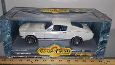 1/18 ERTL AMERICAN MUSCLE 1967 FORD MUSTANG SHELBY GT-350 WHITE gd
