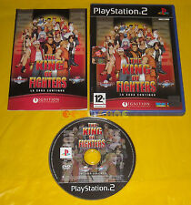 THE KING OF FIGHTERS 2000-2001 Ps2 Versione Ufficiale Italiana 1ª Ed »» COMPLETO