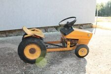 Vintage Old Soviet Russian Made Pedal Driving Children Toy Tractor.