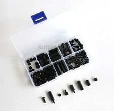 160Pc M-F Hex Spacer M3 Screw Nylon Nut Separator Kit Stand Off Standoff Set PCB