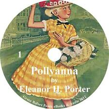 Pollyanna, Classic Childrens Audiobook Eleanor Porter on 6 Audio CDs Free Ship