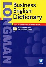 Longman BUSINESS ENGLISH DICTIONARY with CD-ROM Upper-Intermediate& Advanced NEW