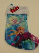 OFFICIALLY LICENCED DISNEY'S FROZEN ELSA AND ANNA 18 INCH CHRISTMAS STOCKING