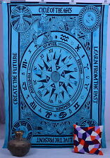 Horoscope Zodiac Astrology Hippy Indian Wall Tapestries Bedding Art Wall Hanging