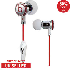 Genuine Monster Beats by Dr Dre iBeats In Ear Cuffie Auricolari Cuffie Bianco