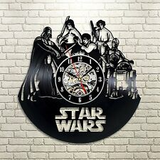 Star Wars_Exclusive wall clock made of vinyl record_GIFT_DECOR