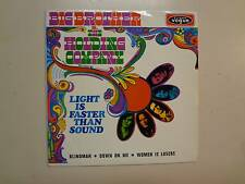 BIG BROTHER & HOLDING COMPANY:(w/Joplin)Light Is Faster Than Sound-France EP PCV