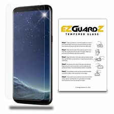 EZguardz Case Friendly Tempered Glass Screen Protector For Samsung Galaxy S8