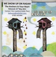 (CA936) We Show Up On Radar, The Anchors In Your Heart - 2011 DJ CD