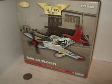 Corgi US32215, Lt Charles Whites P-51D Mustang Tuskegee Airmen,Italy 1:72 Scale