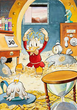 HD Print Oil painting Wall Art on Canvas, J562. Donald Duck 12x18inch Unframed