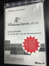 MS Windows Server 2003 Standard R2, 32bit incl. 5 CALs mit MwSt-Rechnung