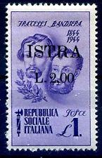 ISTRIA ( POLA ) 1945 - F.lli BANDIERA  Lire 2  su  1  Nuovo **